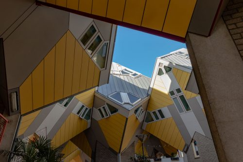 Las casas de cubo