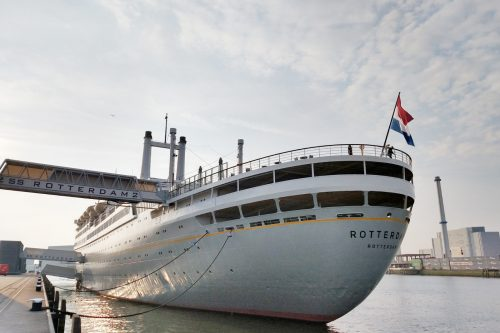 See the cruise ship 'Steam Ship Rotterdam'
