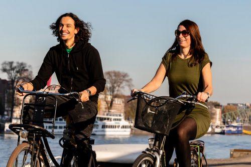 Op de fiets Rotterdam ontdekken