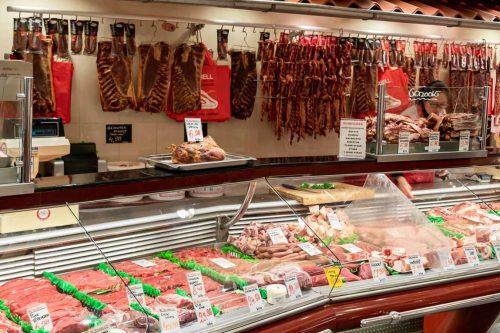 Ga op bezoek bij een slager