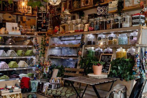 Una encantadora tienda turca escondida