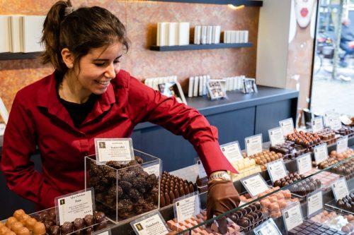 Handgemaakte chocolade